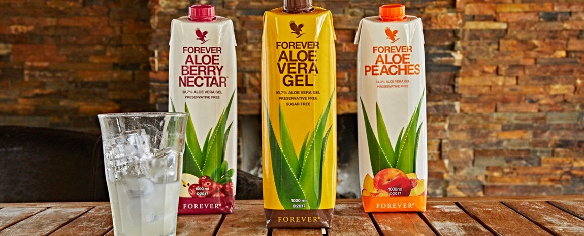 Aloe Vera Drinks and Products